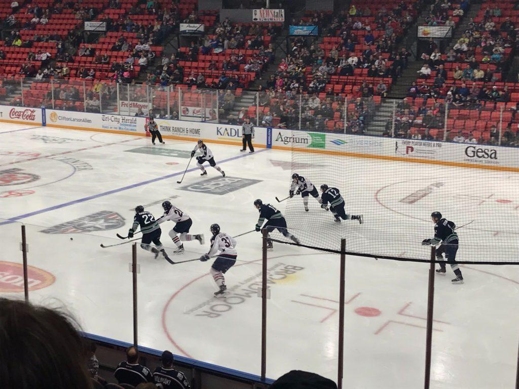Hockey rink dimensions