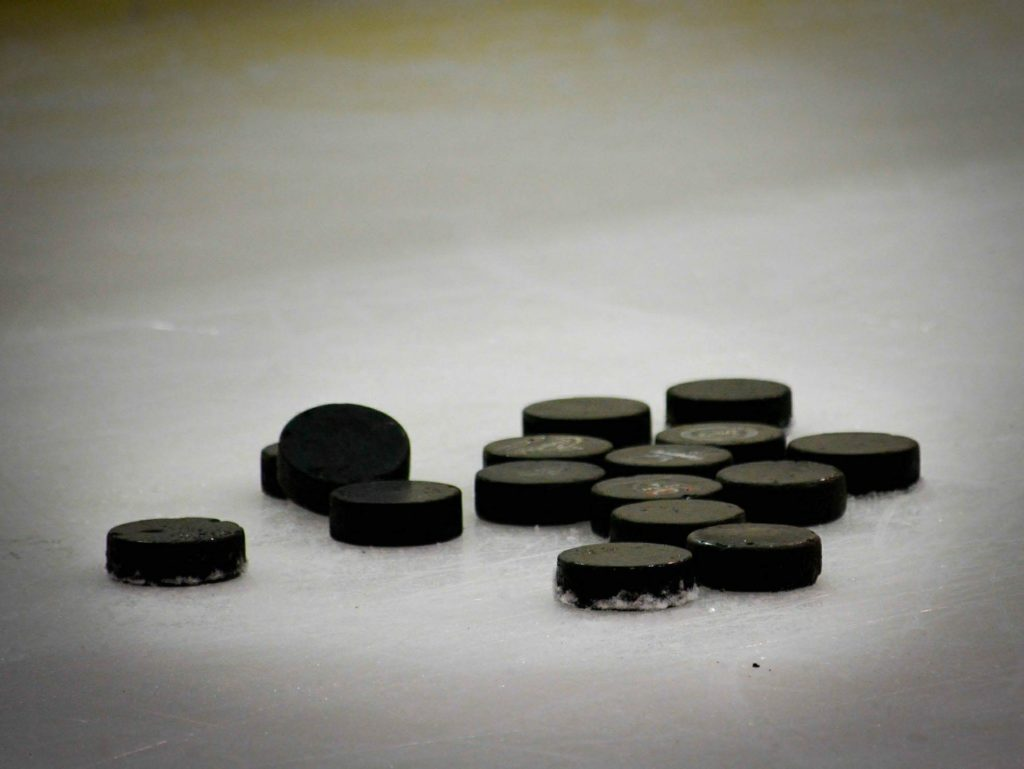 What are Hockey Pucks Made of